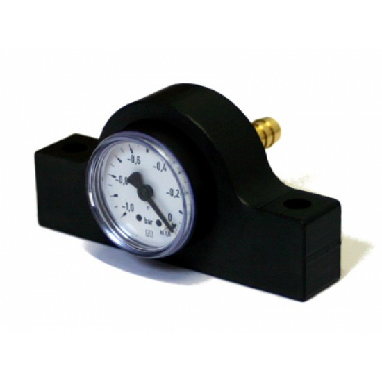 Manometer for SEAL vacuum tables with 9mm hose
