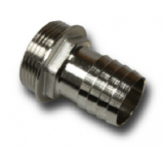 Barbed hose fitting 13-1/4