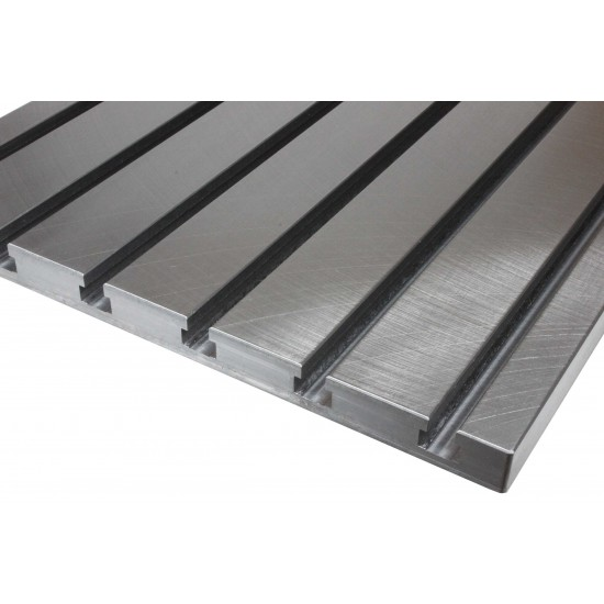 Finely Milled Steel T-slot plate 7050
