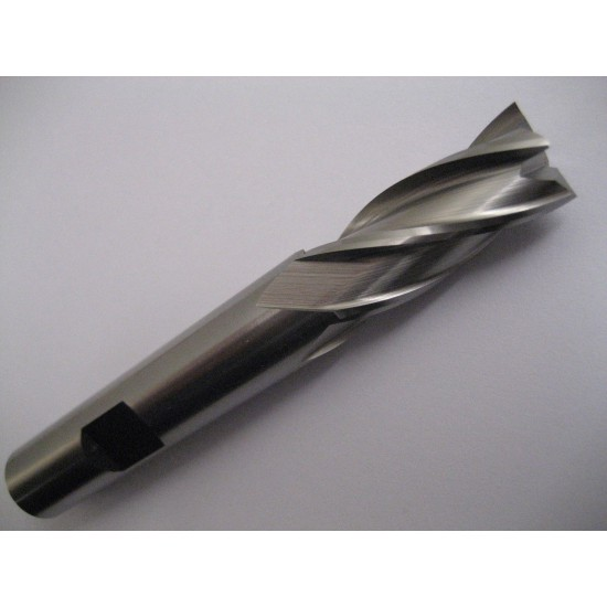 10.5mm HSSCo8 4 Fluted Cobalt End Mill