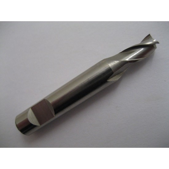 7.5mm HSSCo8 FC3 3 FLT Slot Drill / End Mill